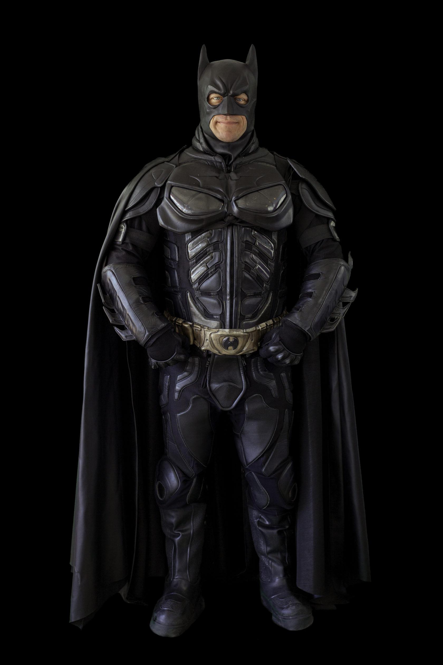 Batman Full Body Black