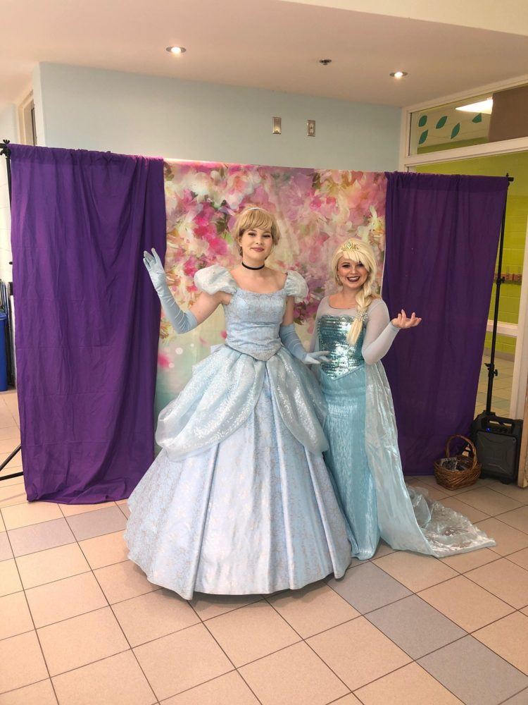 cinderella elsa party perfect character visits