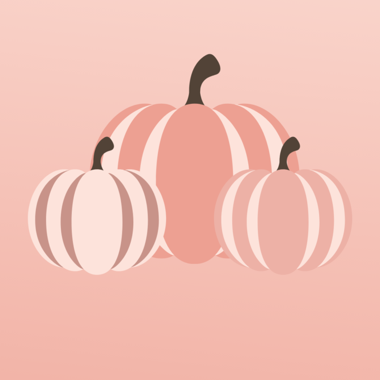 Feminine Fall Pumpkin Graphic